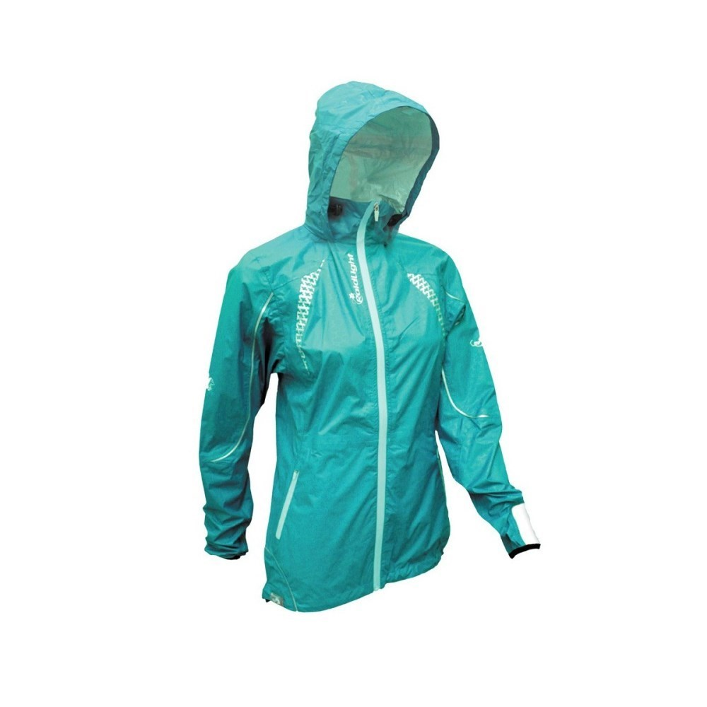 5f150e6e06127 RaidLight Top Extreme - Lightweight Waterproof/Breathable Womens Trail Running  Jacket - Petrol Blue